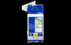 Nhãn in TZe-151 ( Nhãn in 24mm - chữ đen trên nền trong - dài 8 met )