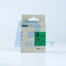 Nhãn in SC6GW ( chữ đen trên nền xanh lá )
