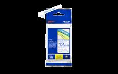 Nhãn in TZe-233 ( Nhãn in12mm - chữ xanh trên nền trắng - dài 8 met )