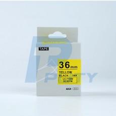 Nhãn in SC36YW ( chữ đen trên nền vàng, 36mm )