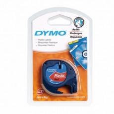Nhãn in Dymo S0721630 (LT) nhựa Polyester ( Đen/Đỏ- 12mm x 4m )