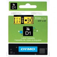 Nhãn in Dymo (D1) S0720730 nhựa Polyester 9mm x 7m – (Đen/Vàng)