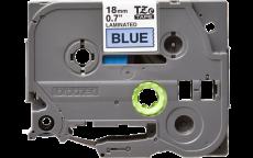 Nhãn in TZe-541 ( Nhãn in 18mm - chữ đen trên nền xanh - dài 8 met )