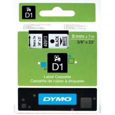 Nhãn in Dymo (D1) S0720680 nhựa Polyester 9mm x 7m – (Đen/Trắng)