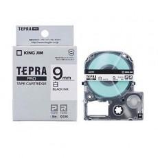 Nhãn in Tepra Pro SS9K ( Chữ đen nền trắng - Khổ 9mm - Dài 8 met )