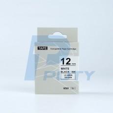 Nhãn in TEPRA SS12KW ( chữ đen trên nền trắng )