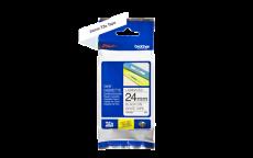 Nhãn in TZe-251 ( Nhãn in 24mm - chữ đen trên nền trắng - dài 8 met )